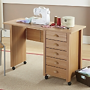 Beadboard Sewing Desk