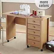 Beadboard Sewing Desk