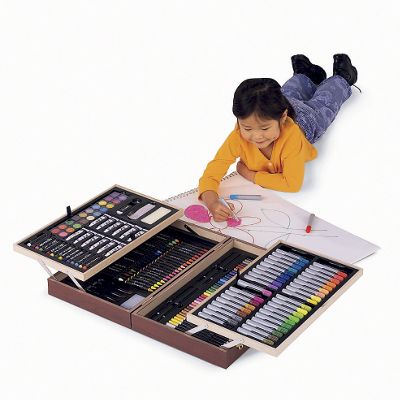178-Piece Personalized Art Supply Case