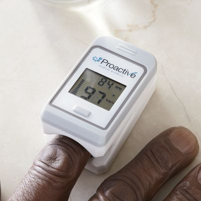 Finger Pulse Oximeter by Proactive