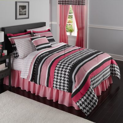 Complete Bed Set & Window Treatments