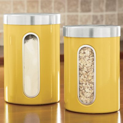 'Window' Canisters
