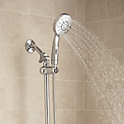 ecospa slide bar with shower head