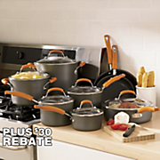 Rachael Ray Orange Cookware Set