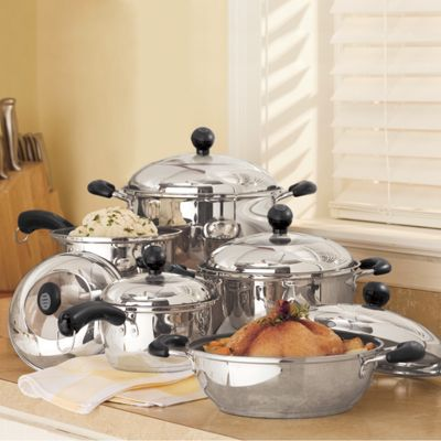 10-Piece 'Portobello' Nonstick Cookware Set