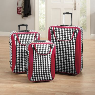 Houndstooth 3-Piece Set Luggage