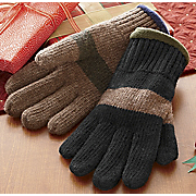 Fleece Lined Wool Gloves