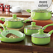 ginny s brand 10 pc cookware set