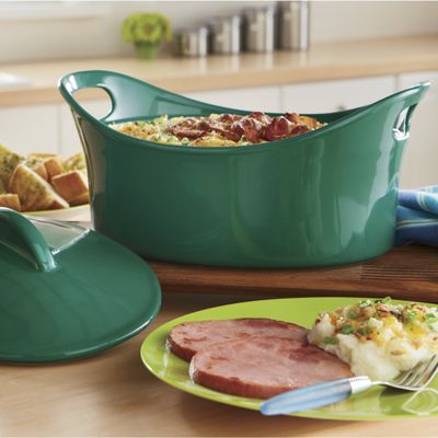 Rachael Ray&#39;s 4-qt. Casseroval<sup class='mark'> &trade;</sup>