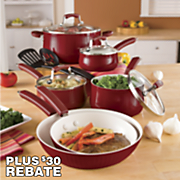 Paula Deen 12-Piece Savannah Cookware Set