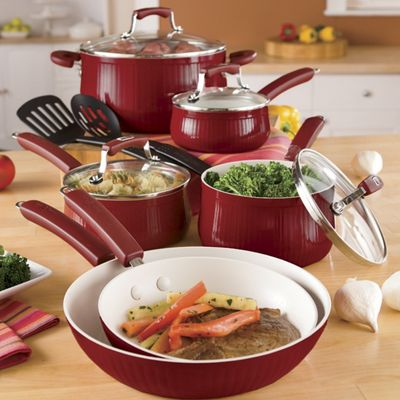 Paula Deen 12-Piece Savannah Cookware Set