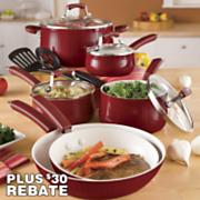 paula deen 12 pc savannah cookware set