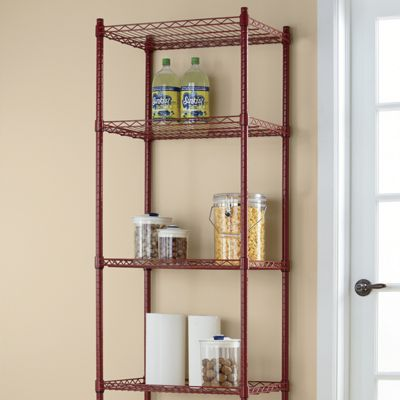 5-Shelf Metal Rolling Tower