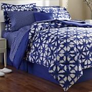 denim blue complete bed