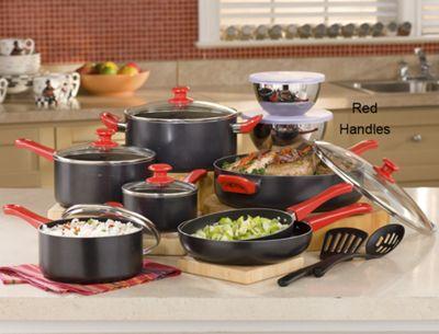 Ginny's Brand 22-Piece Essential Cookware Set