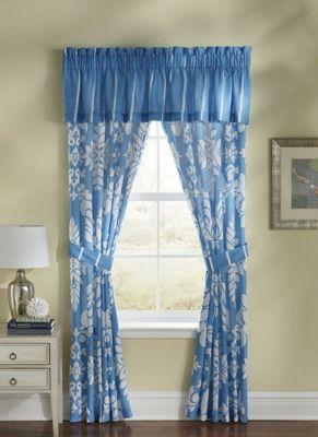 Rene Blue Window Treatments