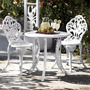 3Pc Tulip Bistro Set