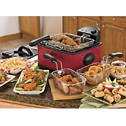 Ginny's Brand 4-Qt. Deep Fryer & Set of 3 Filters