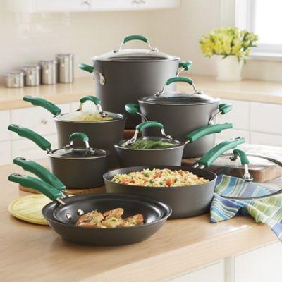 Rachael Ray Hard-Anodized Nonstick Cookware Set