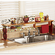 Scroll Apple Over The Sink Shelf