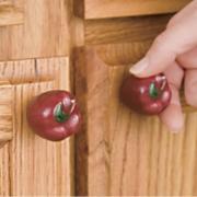 Set Of 10 Apple Knobs