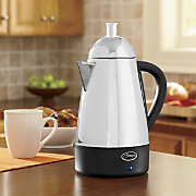 Ginny's Brand Stainless Steel Percolator Coffee Pot