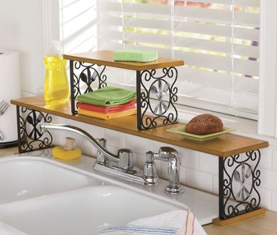 2 Tier Flatware Over The Sink Shelf From Ginny 39 S 62511