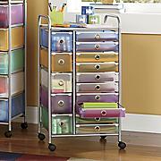 15 Drawer Colorful Craft Cart