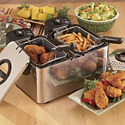 Ginny's Brand Double Deep Fryer