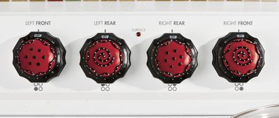 Electric Stove Knobz, Set of 4