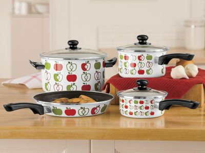 Ginnys Brand 7-pc Apple Cookware