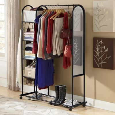 Arched Mirror Wardrobe Organizer