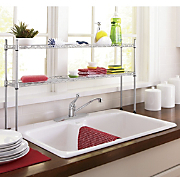 2-Tier Over-the-Sink Shelf