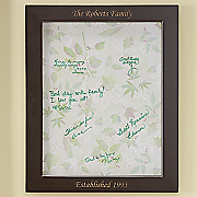 Personalized Autograph Canvas