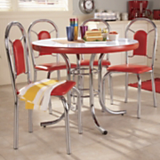 5 Pc Retro Dining Set
