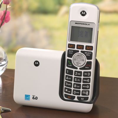 Motorola<sup class='mark'> &reg;</sup> DECT Phone &amp; Additional Handset