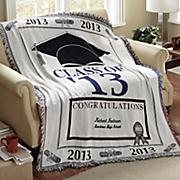 2010 Graduation Throw