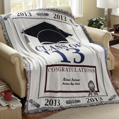 Cotton Graduation Throw
