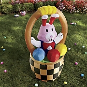 'Mr. Easter Bunny's in a Basket' Inflatable