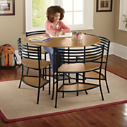 Smart Circle 5-Piece Table and Chairs Set