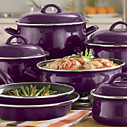 11-Piece Non-stick Enamel Cookware