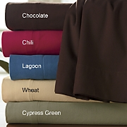 Ginnys Brand Microsmooth Flannel Sheet Set