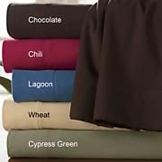 Ginny's Brand Microfiber Flannel Sheet Set