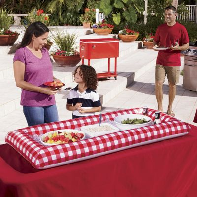 Red Inflatable Buffet