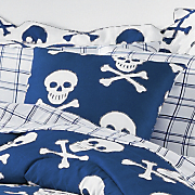 skulls pillow