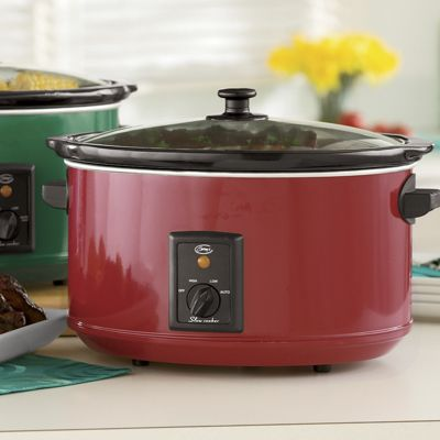Ginny's Brand 8.5-Quart Slow Cooker