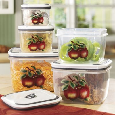 10-Piece Apple Container Set