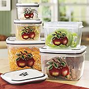 5 Piece Apple Container Set