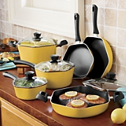 Ginny's Brand 10-Piece Hexagonal Cookware Set