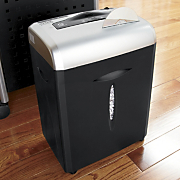 12-Sheet Crosscut Rolling Paper Shredder